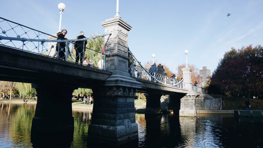 Boston Public Garden Footbridge