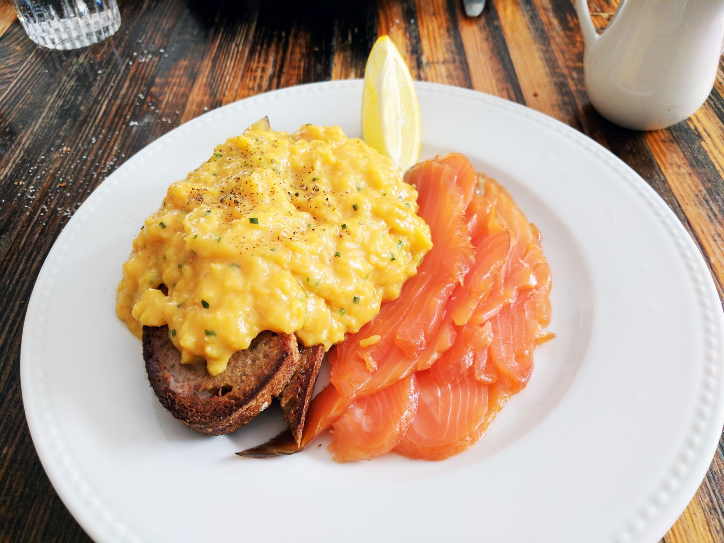 Lawrence Smoked Salmon Scrambled Eggs