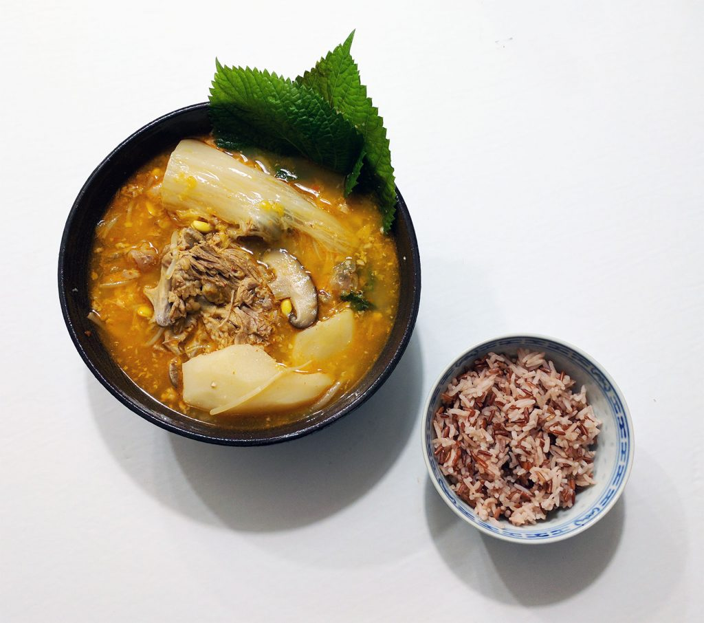 Gamjatang Pork Bone Soup