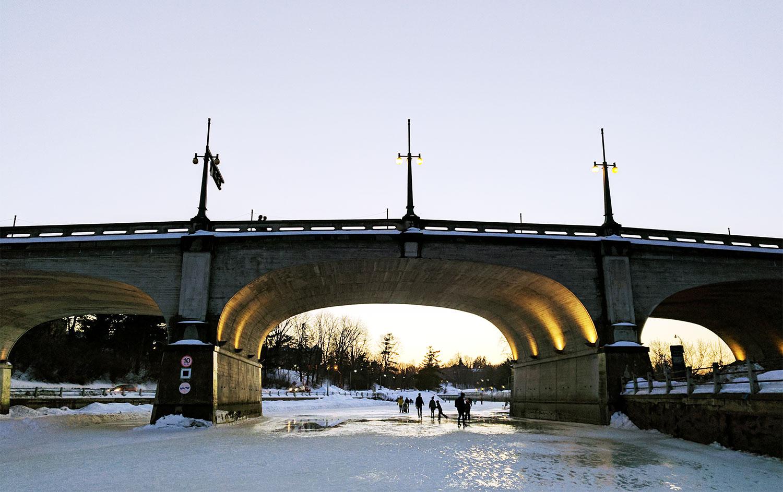 Ottawa Rideau Canal Bridge