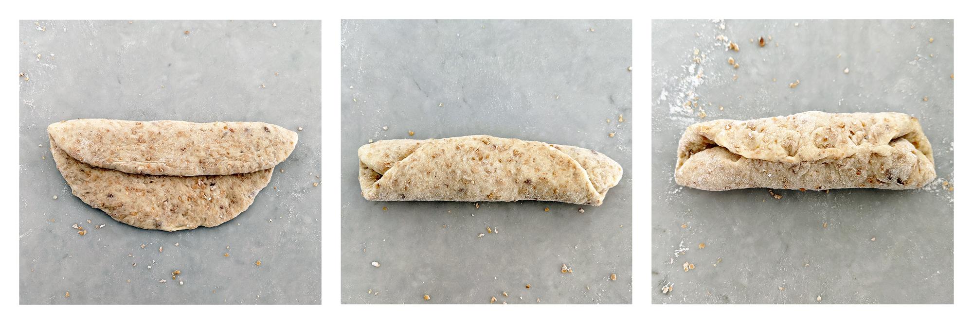 Hokkaido milk bread dough ready to rise